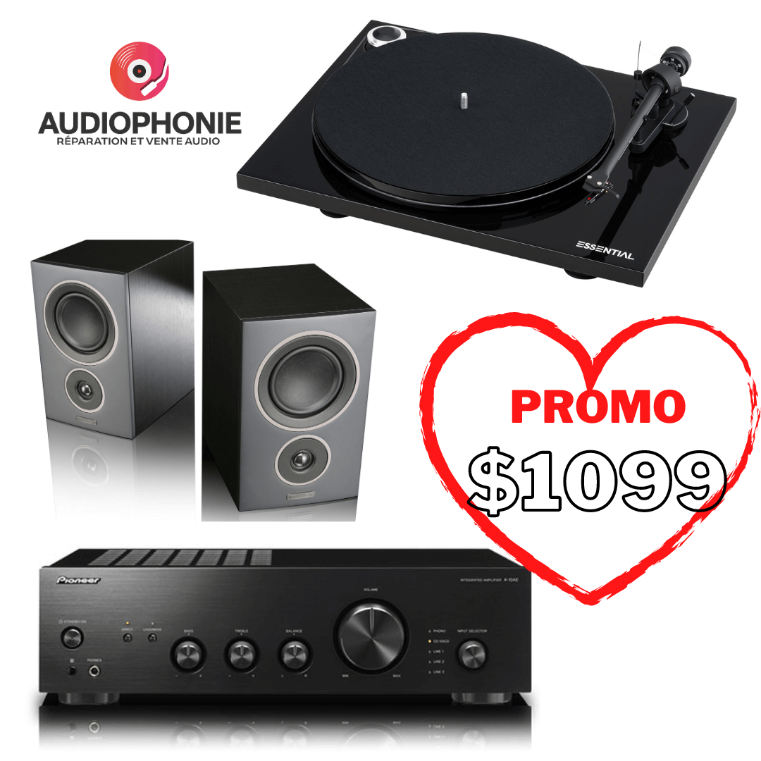 Audiophonie - Promotion for Valentines Day